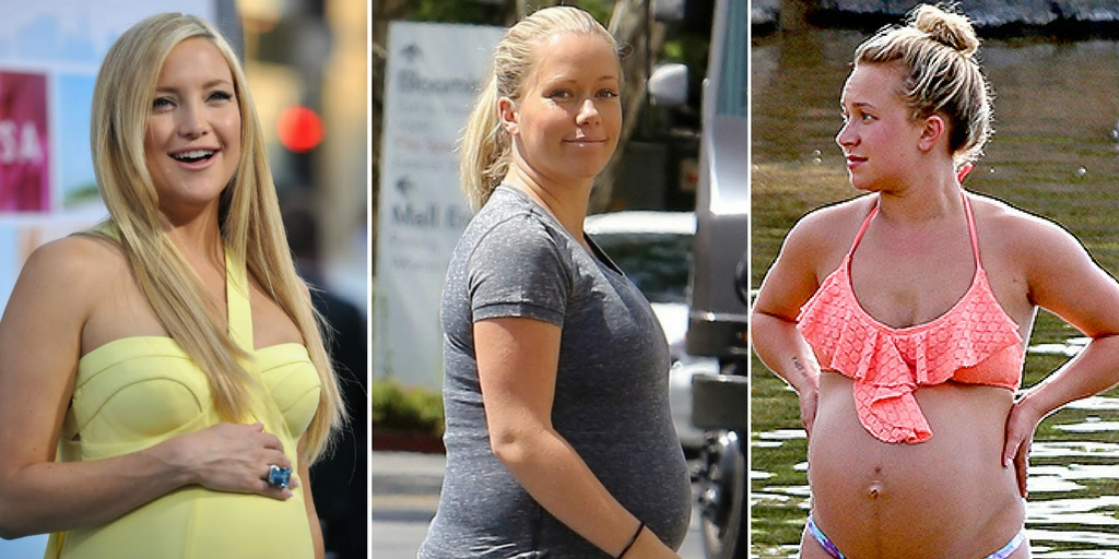 15 Celebs You Didn't Know Became Plus Size While Pregnant